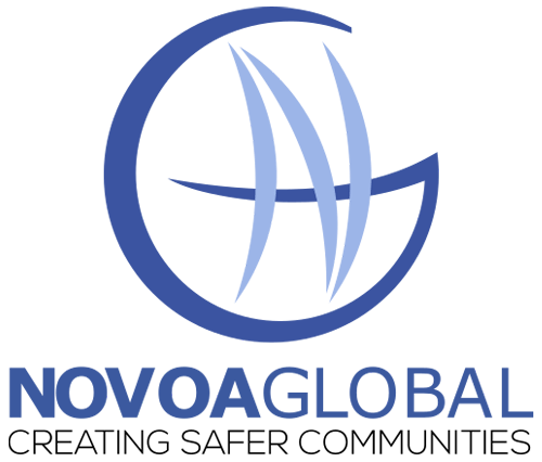 NovoaGlobal Logo Creating Safer Communities