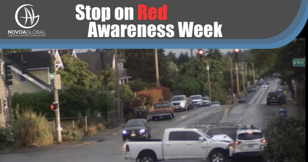Stop on Red Awareness Week Image of intersection crash