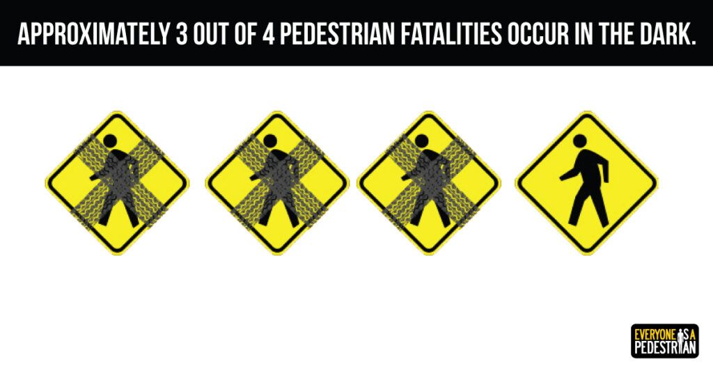 image of crosses over pedestrian crossing sign