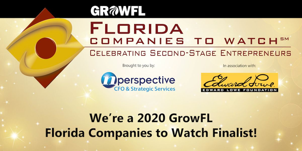 Image of GrowFL box logo NovoaGlobal 2020 Finalist for Florida Companies to Watch
