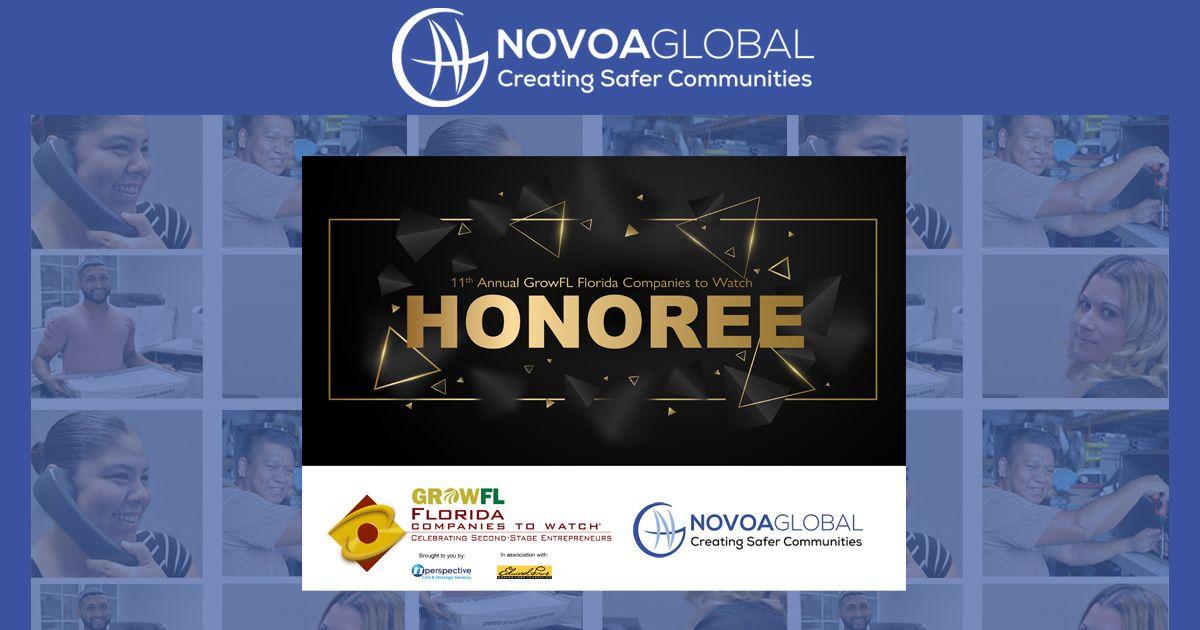 GrowFL 2021 Honoree Award